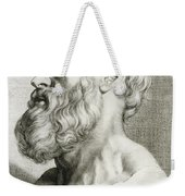 Hippocrates, Greek Physician Weekender Tote Bag