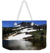 Hiram Peak Glaciers Weekender Tote Bag
