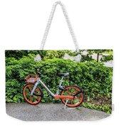 Hire Bike Weekender Tote Bag