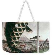Hiroshige: Kites, 1857 Weekender Tote Bag