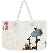 Hiroshige: Poppies Weekender Tote Bag