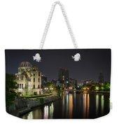 Hiroshima At Night Weekender Tote Bag