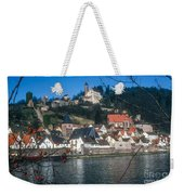 Hirschhorn Village On The Neckar Weekender Tote Bag