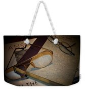 His And Hers - A Still Life Weekender Tote Bag
