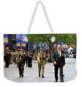 His Excellency General The Honourable David Hurley Weekender Tote Bag