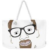 Hipster Him Weekender Tote Bag