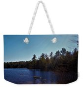 His Shining Light Weekender Tote Bag