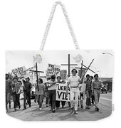 Hispanic Anti-viet Nam War March 1 Tucson Arizona 1971 Weekender Tote Bag