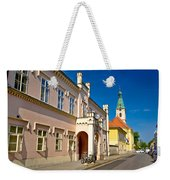 Historic Architecture Of Town Bjelovar Weekender Tote Bag