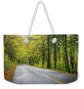 Historic Columbia River Highway In Fall Weekender Tote Bag