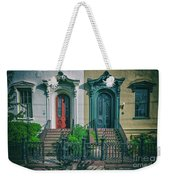 Historic Doors Of Charleston On Bull St Weekender Tote Bag