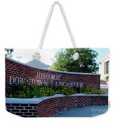 Historic Downtown Lancaster Weekender Tote Bag