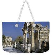 Historic Ephesus Weekender Tote Bag