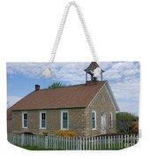 Historic Hinerville Schoolhouse  Weekender Tote Bag