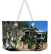 Historic Houses In A City, Charleston Weekender Tote Bag