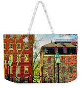 Historic Intersection Weekender Tote Bag