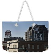 Historic Landmark Signs Roanoke Virginia Weekender Tote Bag