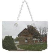 Historic Mormon Cabin Weekender Tote Bag