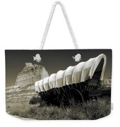 Historic Oregon Trail - Vintage Photo Art Print Weekender Tote Bag