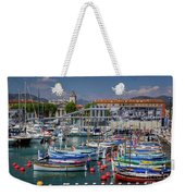 Historic Port Of Nice, France Weekender Tote Bag