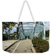 Historic South Washington St. Bridge Binghamton Ny Weekender Tote Bag
