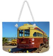 Historic Trolley Weekender Tote Bag