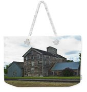 Historical Barron Wheat Flour Mill In Oakesdale Wa Weekender Tote Bag