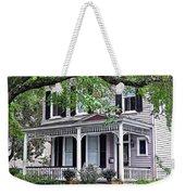 Historical Home In Wilmington Weekender Tote Bag