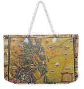 Historical Map Of Early Colorado Weekender Tote Bag