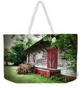 Historical Train Station In Belle Mina Alabama Weekender Tote Bag