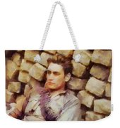 History In Color. French Resistance Fighter, Wwii Weekender Tote Bag
