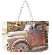 History On Wheels Weekender Tote Bag