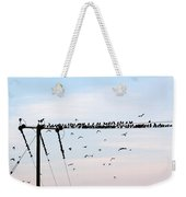 Hitchcock,  The Birds Weekender Tote Bag