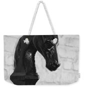 Hitching Post Art Weekender Tote Bag