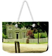 Hitching Post Weekender Tote Bag