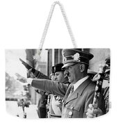 Hitler And Italian Count Ciano Chancellory Berlin 1939 Weekender Tote Bag