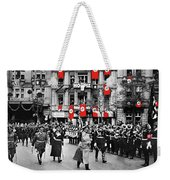 Hitler With Goering And Himmler Marching In Munich Germany C.1934-2016  Weekender Tote Bag