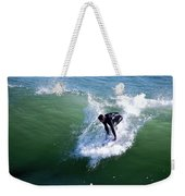 Hitting The Wave Weekender Tote Bag
