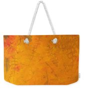 Hkf Yellow Planet Surface Weekender Tote Bag