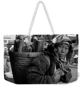 H'mong Woman Weekender Tote Bag