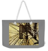 Hms Bounty - Up The Mast - 2 Weekender Tote Bag
