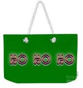 Ho Ho Ho Christmas Tee Weekender Tote Bag