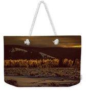 Hoar Frost In Dawn's Light Weekender Tote Bag