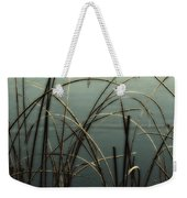 Hoar Frost On Pond 1 Weekender Tote Bag