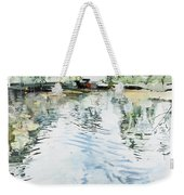 Hobby House And Ripples Weekender Tote Bag