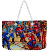 Hockey  Hero Weekender Tote Bag