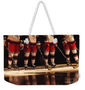 Hockey Reflection Weekender Tote Bag