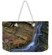 Hocking Hills State Park Small Waterfall Weekender Tote Bag