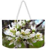Hog Plum Blossoms Weekender Tote Bag