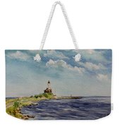 Hogby Lighthouse Weekender Tote Bag